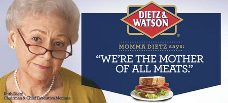 "<font size=""-3"">Mama Dietz,</font>"